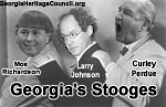 Georgia's Three Stooges: Moe Richardson, Larry Johnson, Curley Perdue